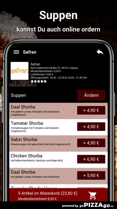 Safran Leipzig screenshot 5