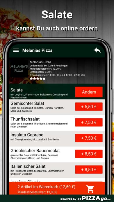 Melanias Pizza Reutlingen screenshot 5