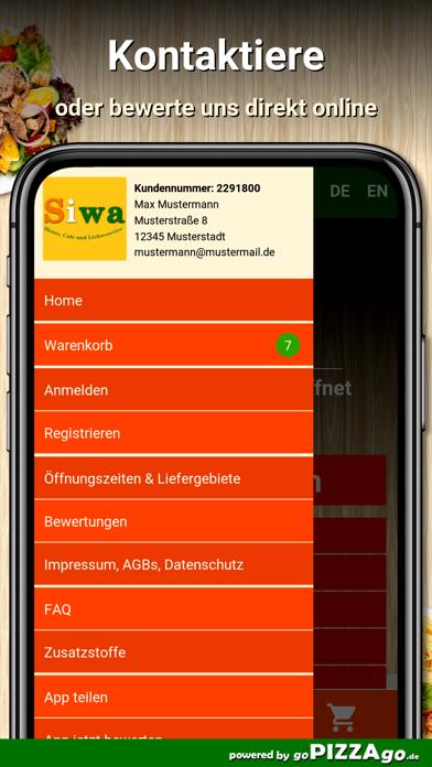Siwa Lieferservice Hamburg screenshot 3