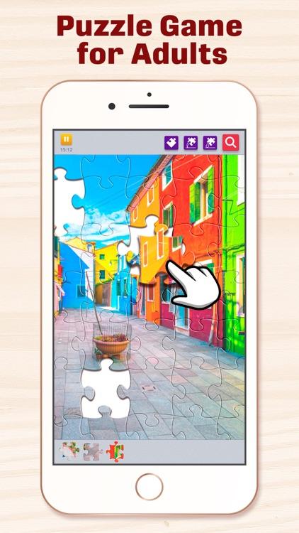 Jigsaw Puzzles for Adults HD screenshot-0
