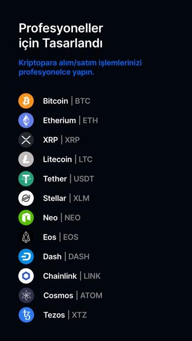BtcTurk   PRO - Bitcoin Al-Sat iphone ekran görüntüleri