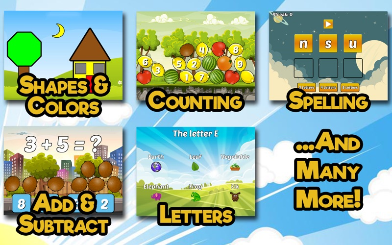 Preschool & Kindergarten Games screenshot 2