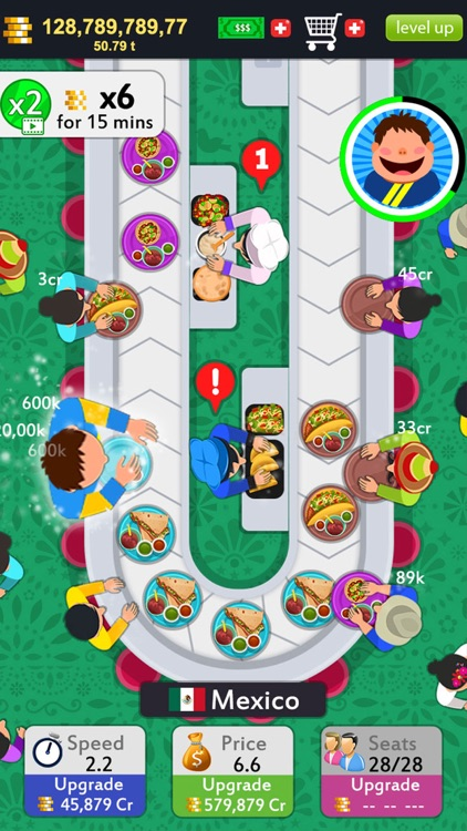 Idle Food Tycoon Game screenshot-3
