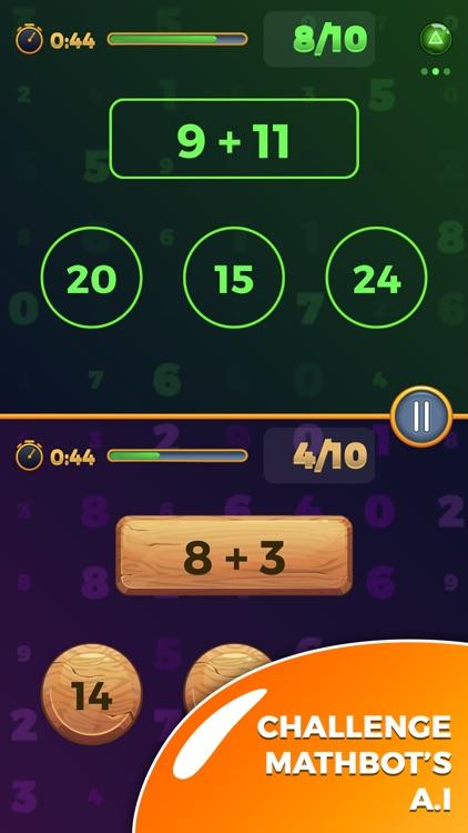 Mathematical Run (Math games)