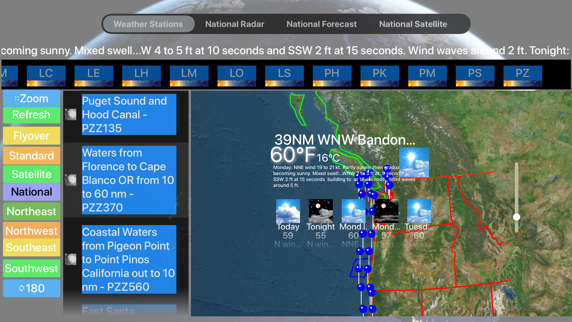 Instant Marine Forecast Pro screenshot 21