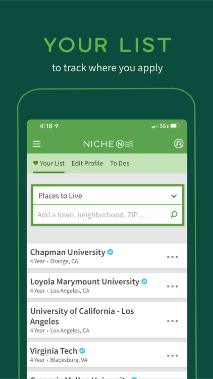 Niche: Colleges, K-12 & Places screenshot-5