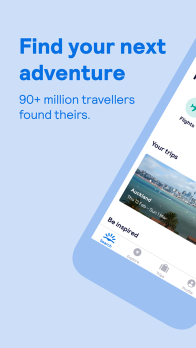 Skyscanner – travel deals iPhone