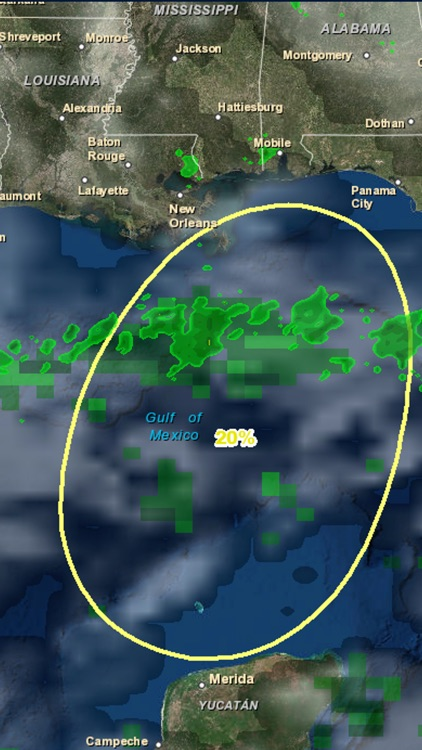 Gulf Hurricane Tracker