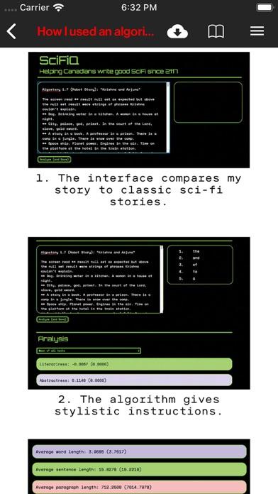 Tech Review Screenshot