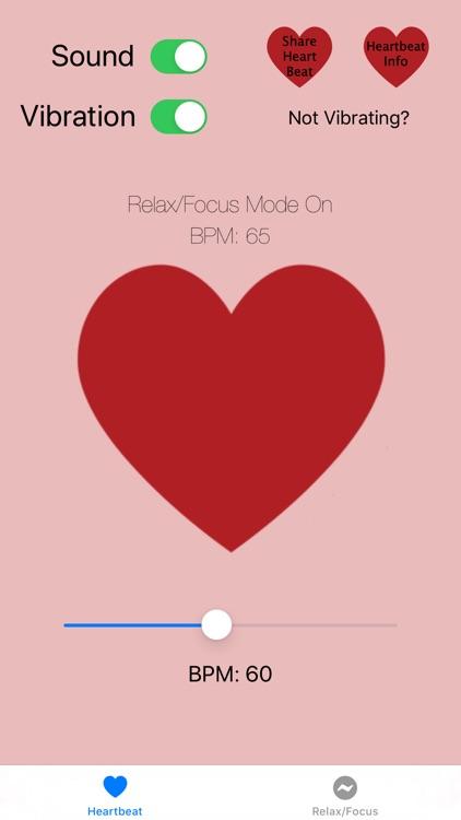 Heartbeat Feeling & Sound Pro screenshot-4