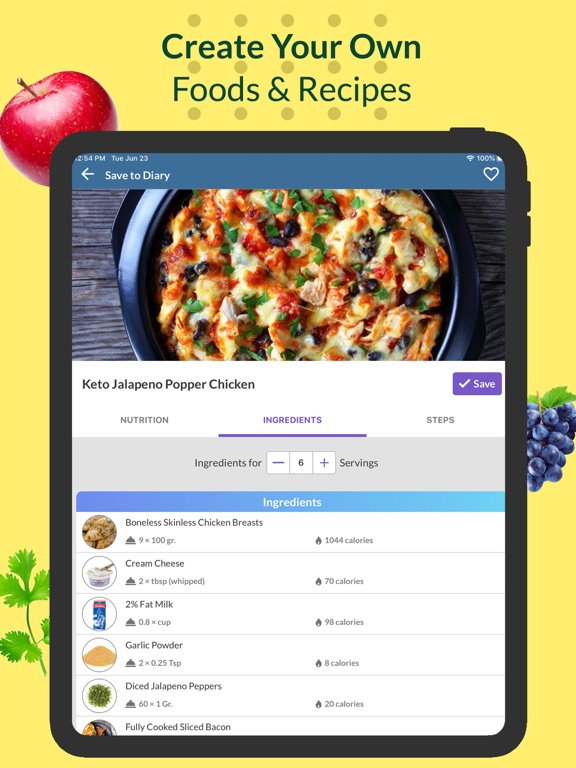 Food Tracker & Keto - Freshbit screenshot
