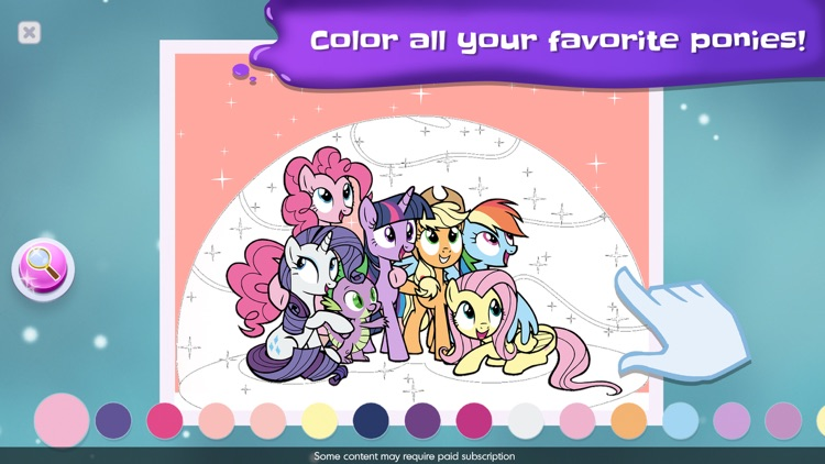 My Little Pony Color By Magic screenshot-3