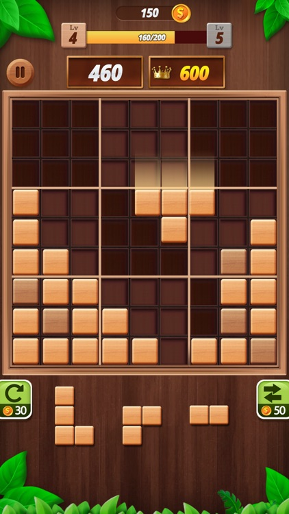Block Puzzle - Wood Blast
