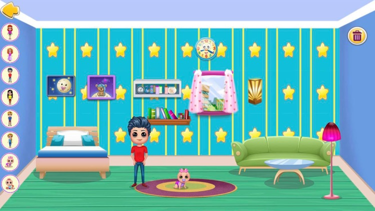 Doll House Game : Home Design