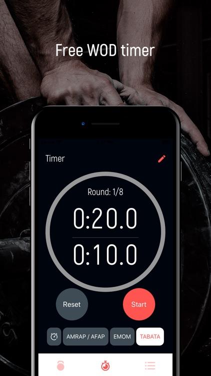Holy WOD Functional Fitness screenshot-3