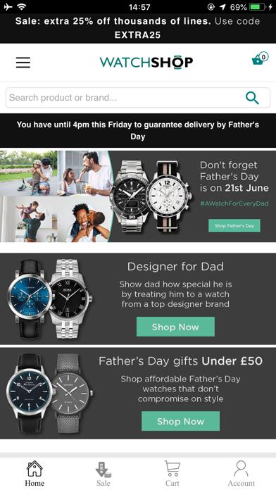 Watch Shop screenshot 1