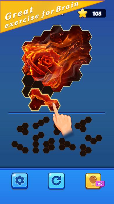 Color Hexa Jigsaw screenshot 3