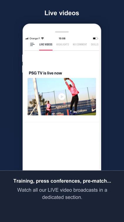 PSG Official screenshot-3