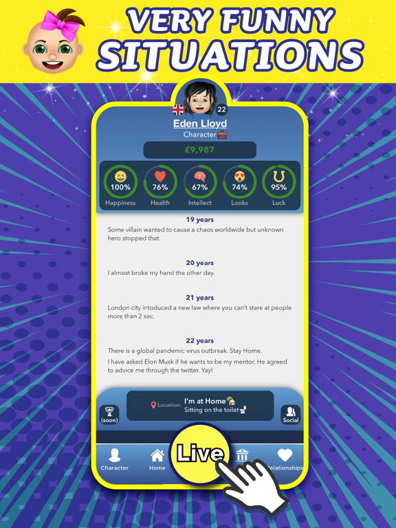 Enclaver - Life Simulator Sim