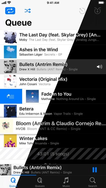 MusiQ Player - Queue Music screenshot-0