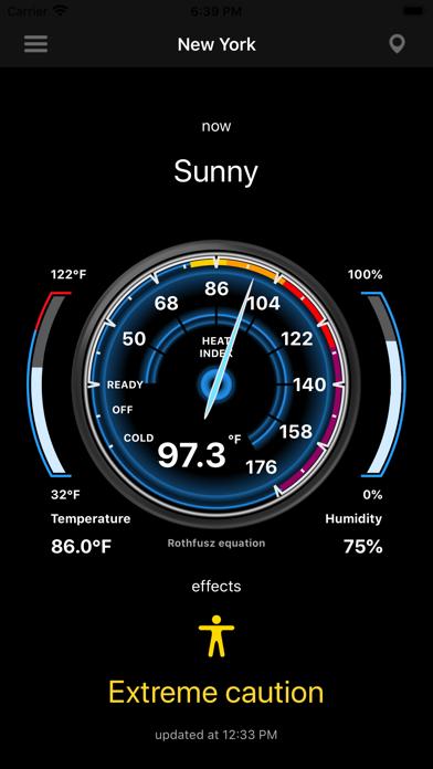 Heat Index - HI screenshot 3
