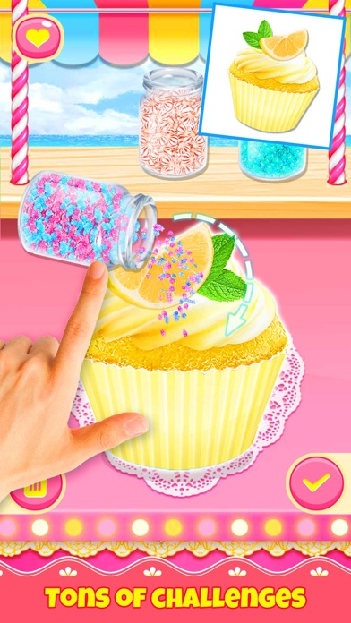 Cupcake Games: Casual Cooking screenshot 3