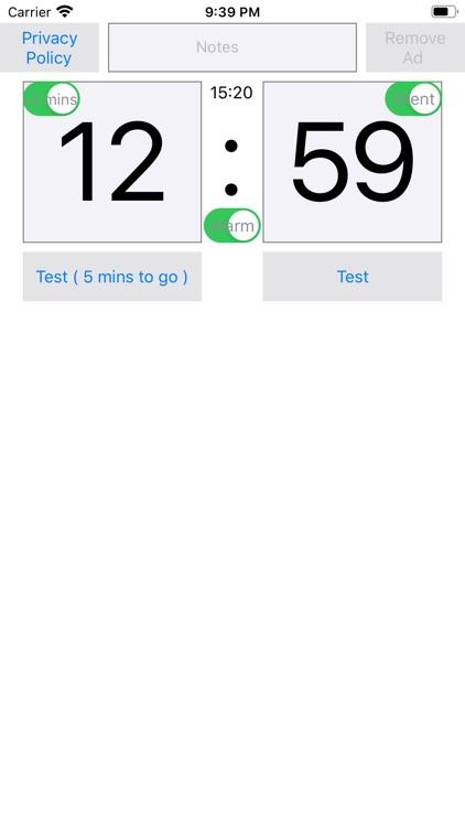 Easy Alarm Time Setting