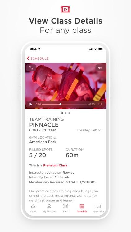 VASA Fitness Mobile screenshot-4