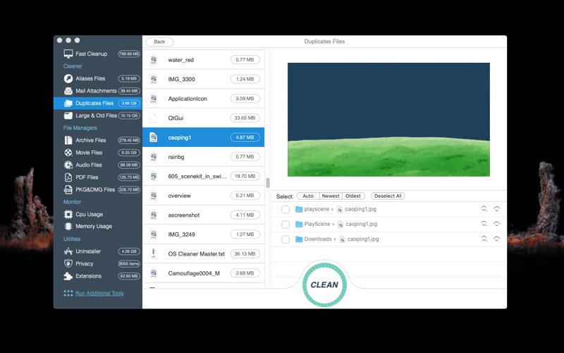 OS Cleaner Screenshot