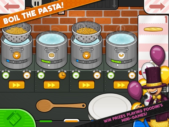 Papa's Pastaria To Go! screenshot 8