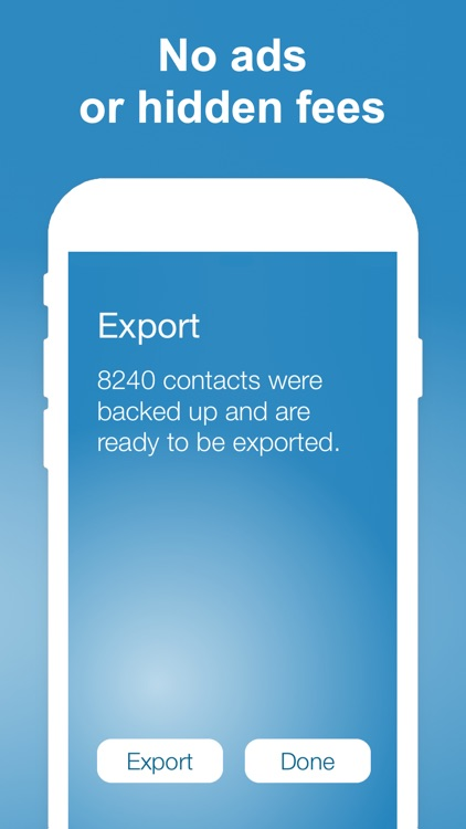 Export Contact screenshot-2