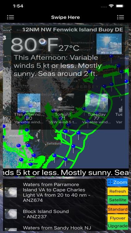 Instant Marine Forecast Lite screenshot-3
