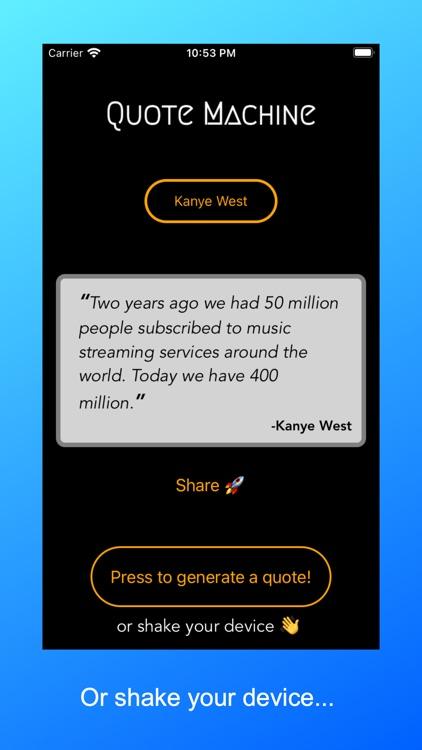 Quote Machine screenshot-3