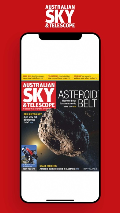 Australian Sky and TelescopeScreenshot of 1