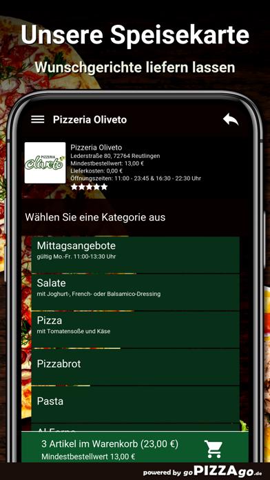 Pizzeria Oliveto Reutlingen screenshot 4