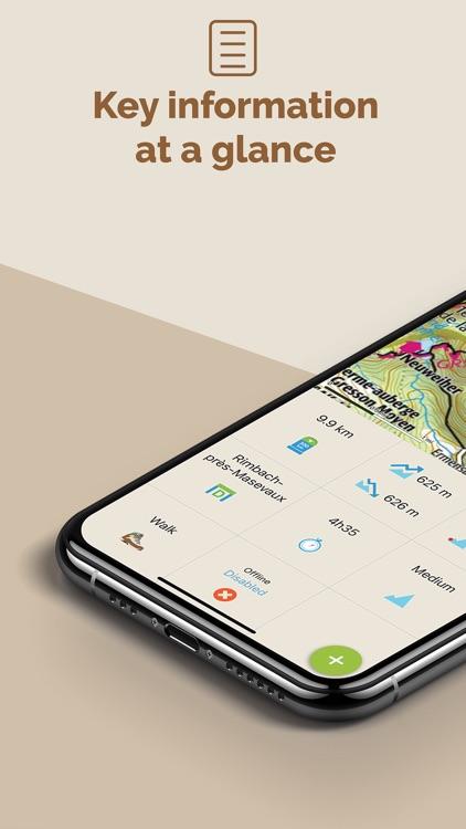 Visorando - Route ideas screenshot-7