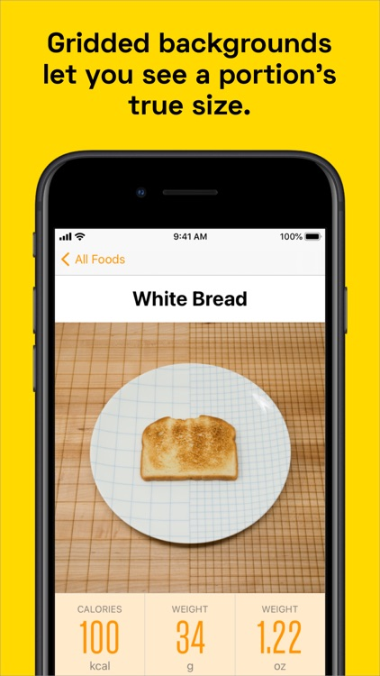 100 Calories: Food Photos screenshot-3