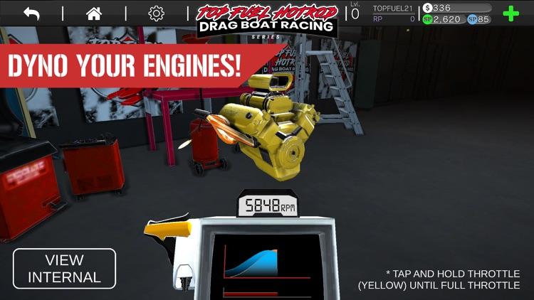 Drag Racing Boat Game - HotRod screenshot-5
