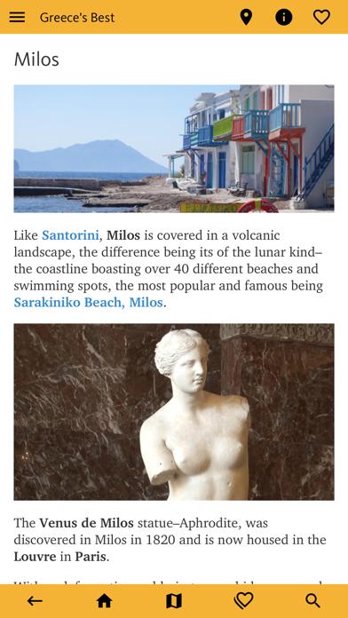 Greece's Best: Travel Guide screenshot 6