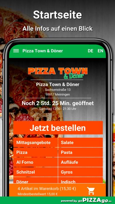 Pizza Town & Döner Meiningen screenshot 2