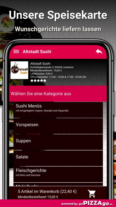 Altstadt Sushi Landshut screenshot 4