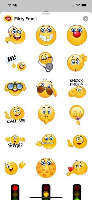 Emoji flirt Use These