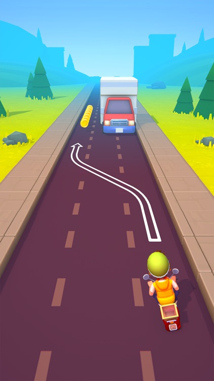 Deliveryman: 3D Bike Race Game