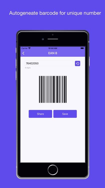 QR code reader and generator+ screenshot-7