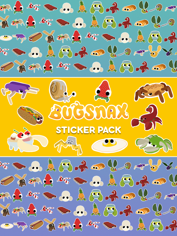 Bugsnax Stickers screenshot 5