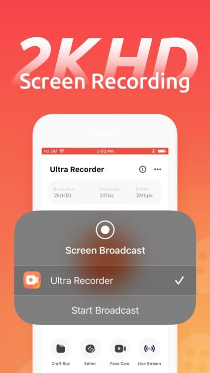 Ultra Recorder - Screen Record