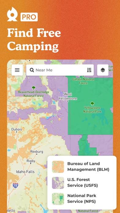 The Dyrt: Tent & RV Camping Screenshot