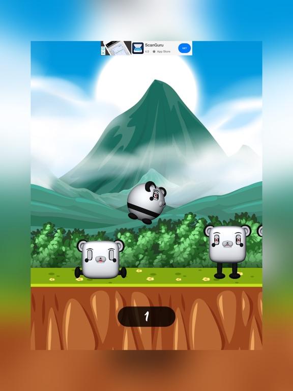Funny Panda Jumping screenshot 3