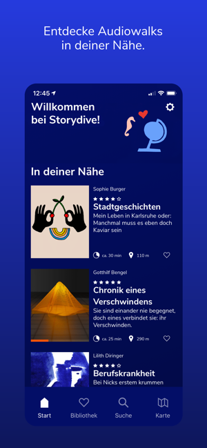 ‎Storydive Screenshot