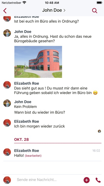 Mein Liebenau Chat screenshot-2